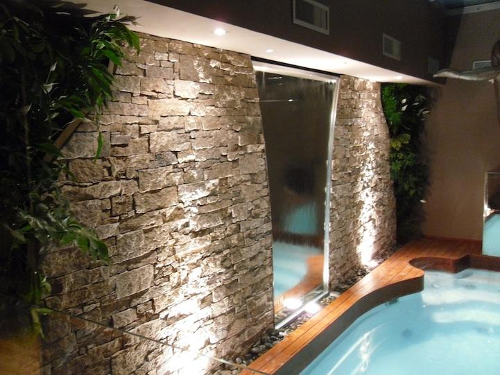 mur d'eau intérieur